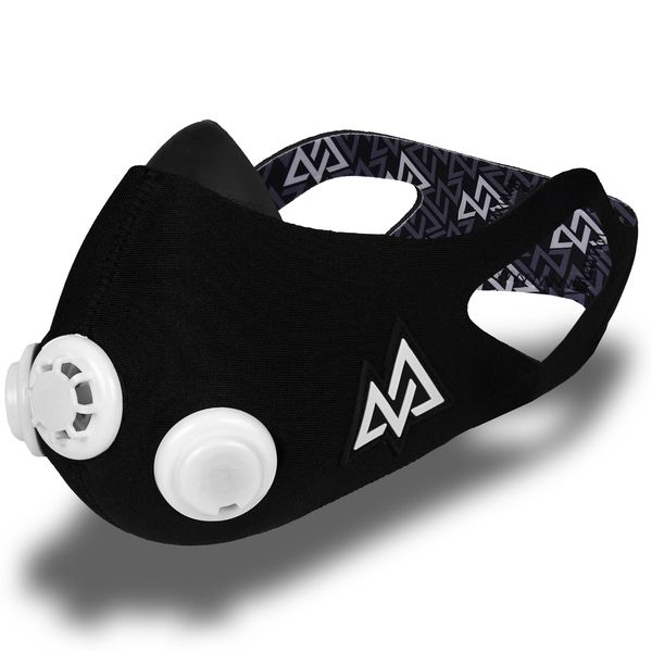 An example of an altitude training mask