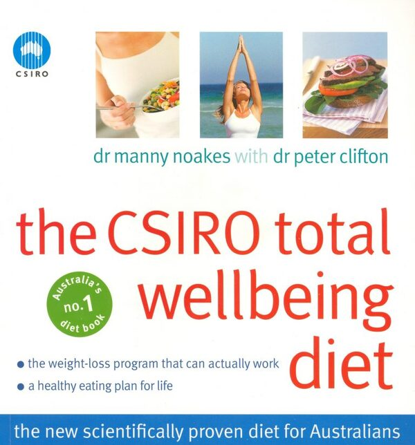 CSIRO total wellbeing diet book cover