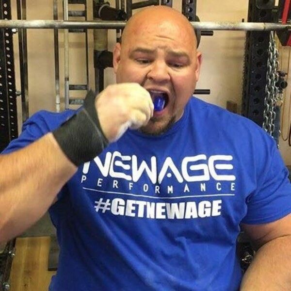 strongman Brian Shaw endorses New Age Performance products