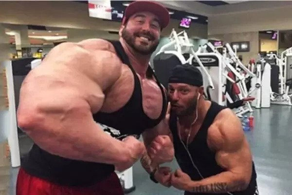 two fitness bros
